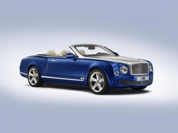 Bentley Grand Convertible - наследник Azure