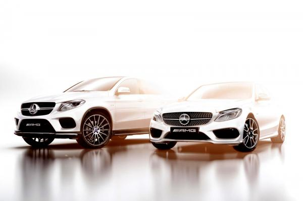 Первые фото Mercedes-Benz GLE Coupe