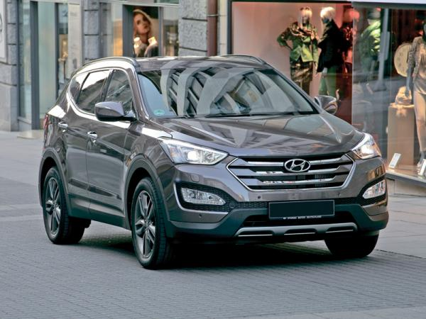 Hyundai Santa Fe, Mitsubishi Outlander и Nissan X-Trail: соревнование вседорожников
