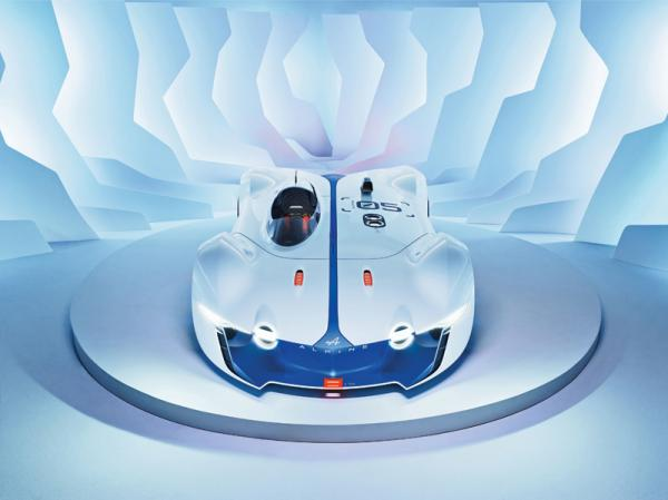 Renault Alpine Vision Gran Turismo: дань классике
