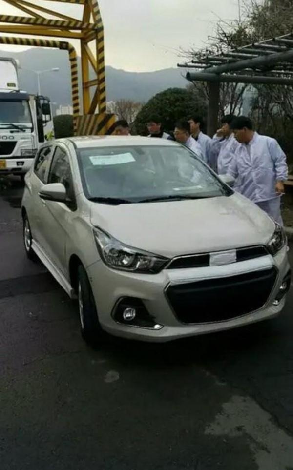 Первые фото нового Chevrolet Spark
