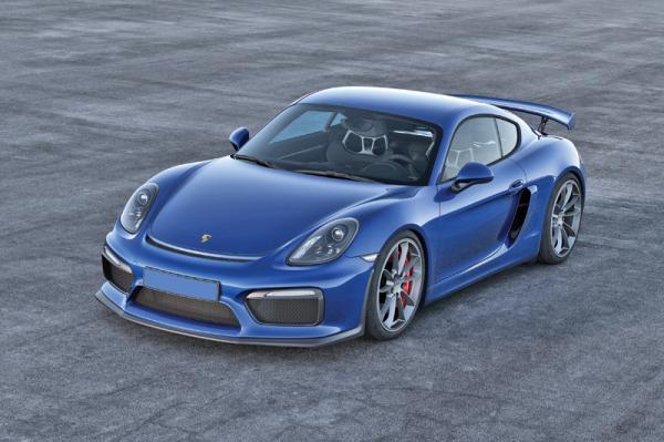 Porsche Cayman GT4: для гоночного трека