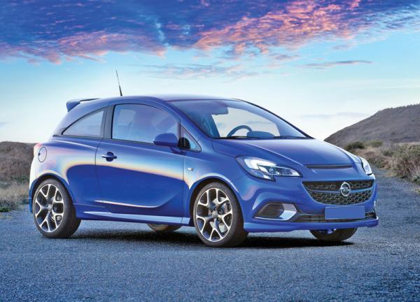 Opel Corsa OPC: самый мощный в линейке