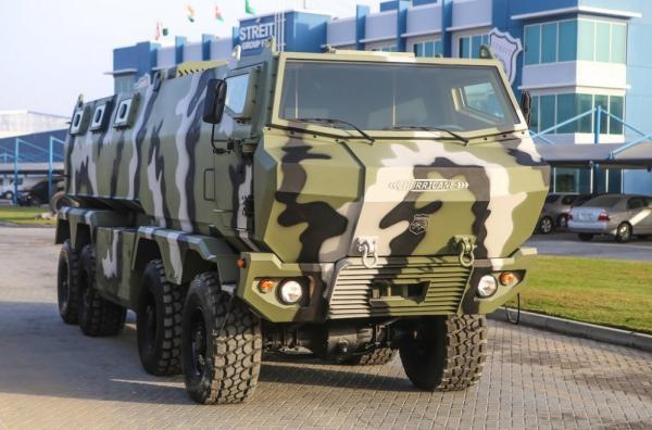 КрАЗ представил два бронеавтомобиля