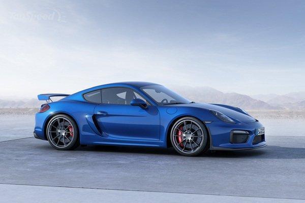Рассекречена внешность нового Porsche Cayman GT