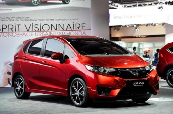 Летом появится новая Honda Jazz