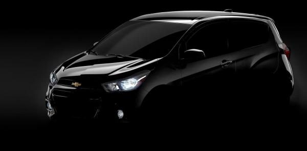 Chevrolet Spark покажут в Нью-Йорке