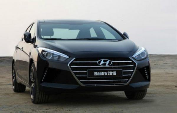 В сети появилось изображение новой Hyundai Elantra 2016