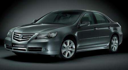 Honda Legend: обновление