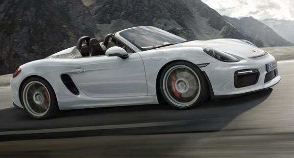 Porsche презентовал Boxster Spyder