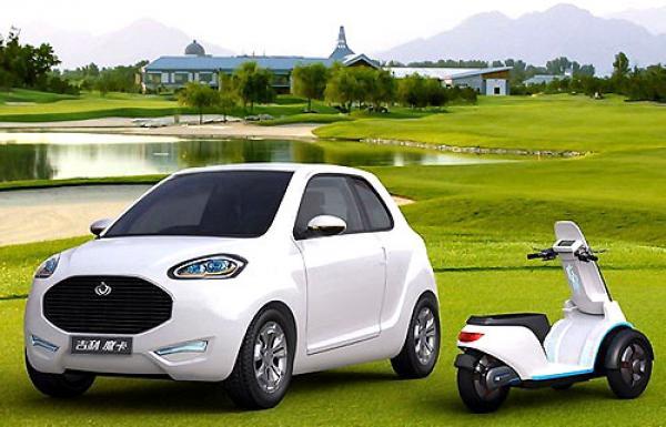 В Украине будут выпускать электромобили