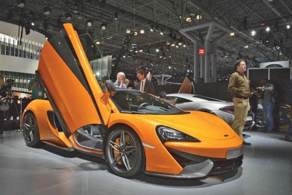 Нью-Йоркский автосалон-2015: автошоу по-американски (Часть 2)