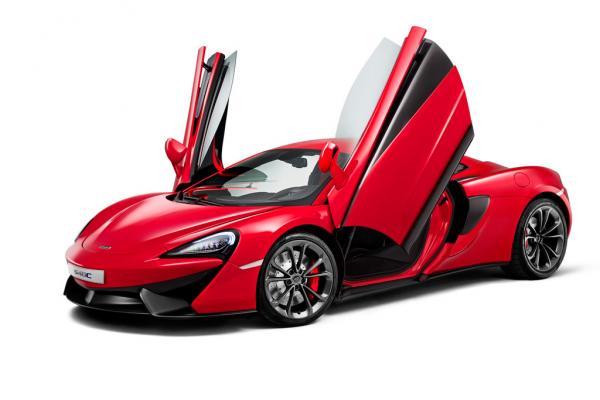 McLaren представил спортивный автомобиль 540С
