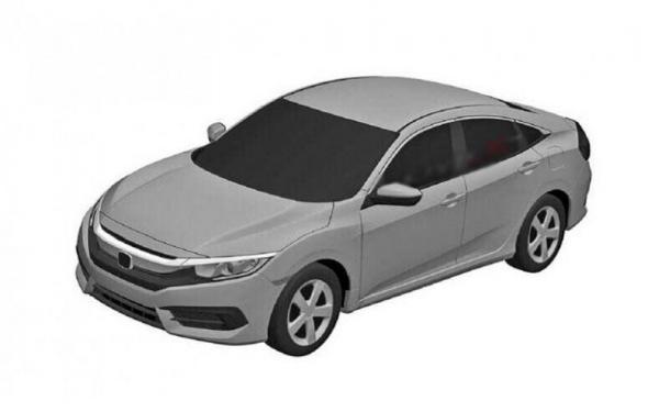 Первые изображения Honda Civic