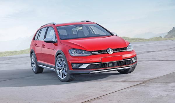 Volkswagen Golf Alltrack: универсал со вседорожными способностями