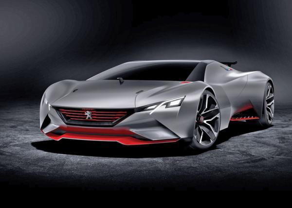 Peugeot Vision Gran Turismo: виртуальное купе