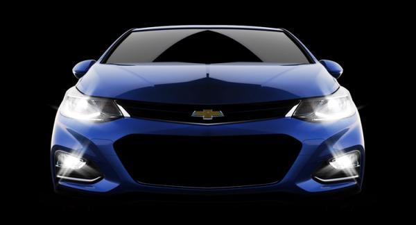 GM показал фото Chevrolet Cruze следующего поколения