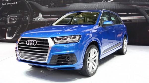 Audi начал поставлять новый Q7 в Украину