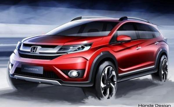 Honda показала изображения нового BR-V
