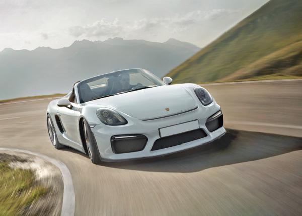 Porsche Boxster Spyder: лишний вес – долой!
