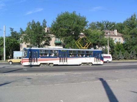 Луганск. Проезд в коммунальном транспорте подорожал