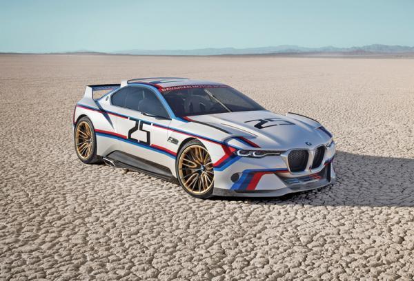 BMW 3.0 CSL Hommage R: предвестник нового 6 Series