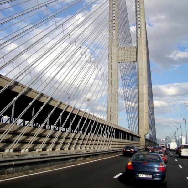 Движение на Южном мосту в столице будет ограничено