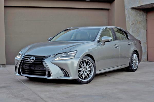 Lexus GS: модернизация