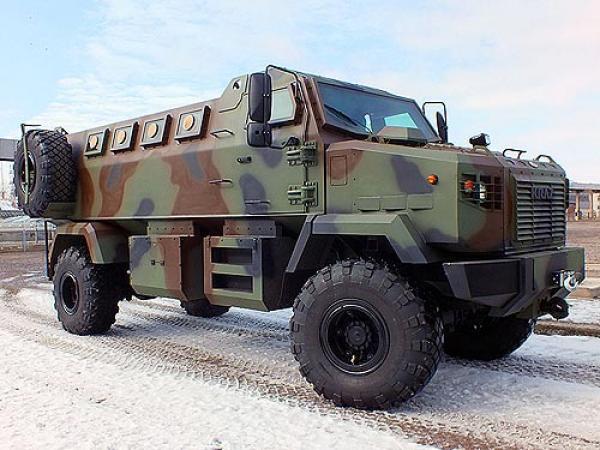 Украинской публике представлен бронеавтомобиль  КpАЗ Feona