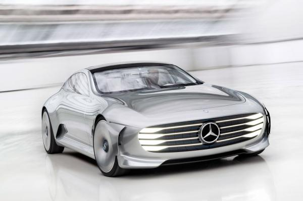 Сверхобтекаемый Mercedes-Benz IAA показали во Франкфурте
