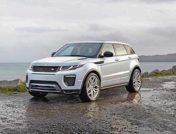 Range Rover Evoque: освежение