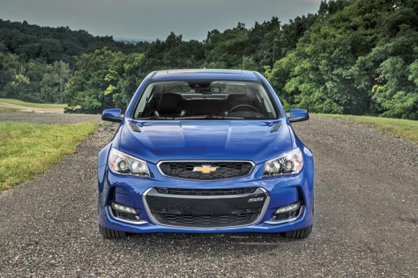 Chevrolet SS: обновление
