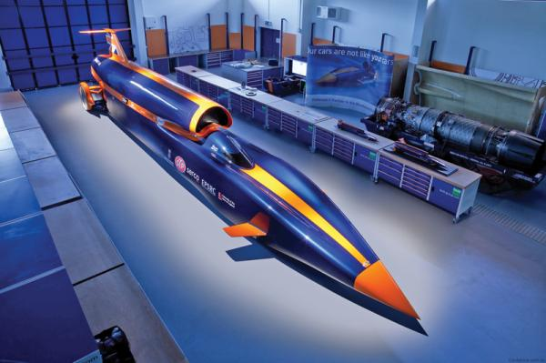 Bloodhound SSC: даешь 1600 км.ч