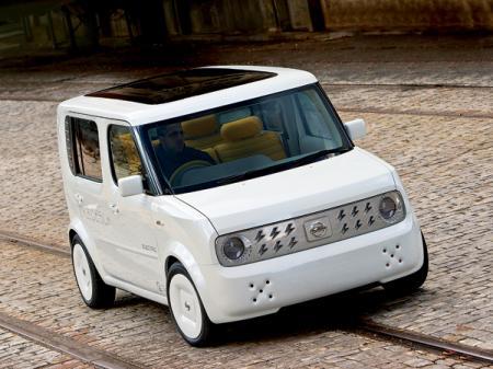 Nissan Denki Cube: компактный городской электромобиль