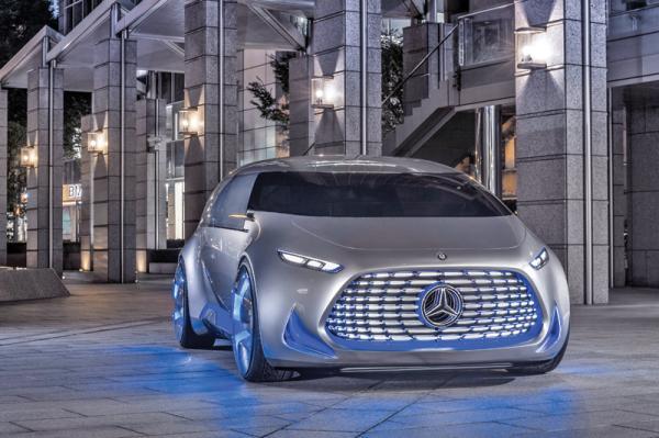 Mercedes-Benz Vision Tokyo: ставка на автопилот