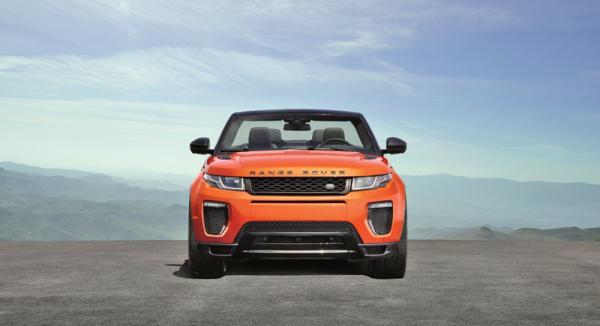 Range Rover Evoque Convertible: вседорожный эксклюзив