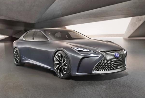 Lexus LF-LC: предтеча нового флагмана