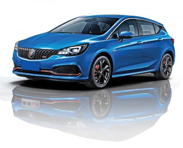 Buick Verano: роскошный собрат Opel Astra
