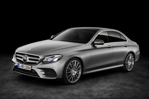 Новый Mercedes-Benz E-Class покажут в Детройте