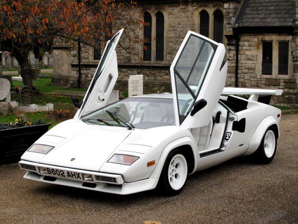 Lamborghini Countach: яркий символ эпохи