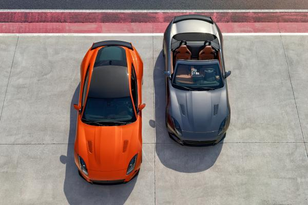 Самый быстрый Jaguar F-Type покажут в Женеве