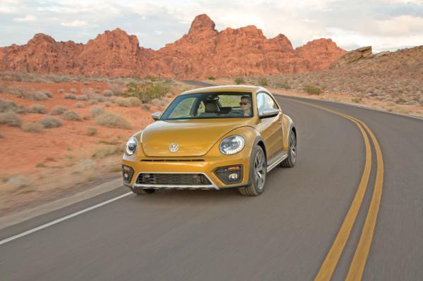 Volkswagen Beetle Dune: в пляжном стиле