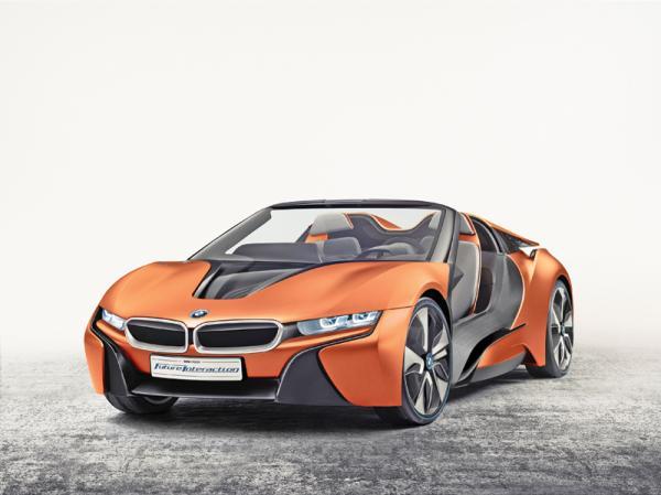 BMW i Vision Future Interaction: предвестник нового кабриолета