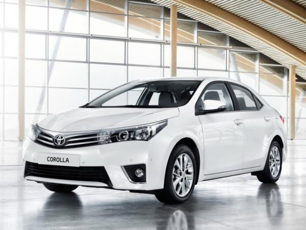 Toyota Corolla стала лидером продаж