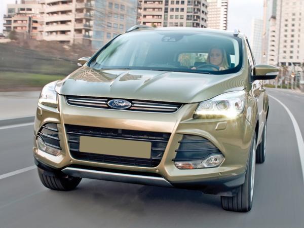 Ford Kuga, Hyundai Tucson и Volkswagen Tiguan: соревнование компактных вседорожников