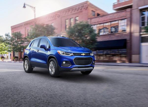 Chevrolet Tracker обновлен