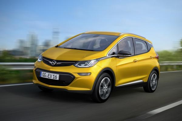 Chevrolet Bolt EV станет Opel Ampera-e