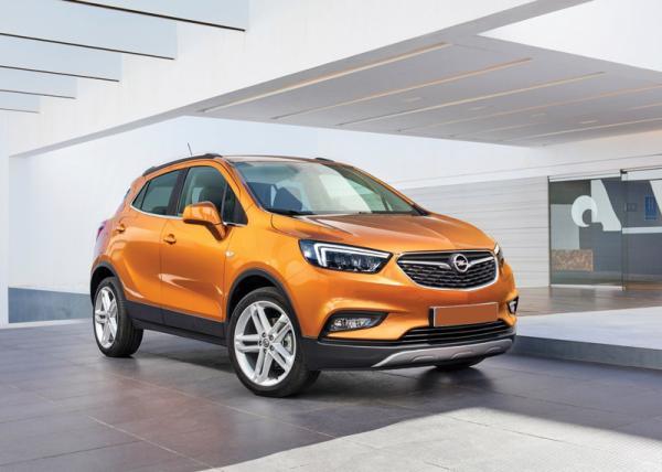Opel Mokka X: модернизация