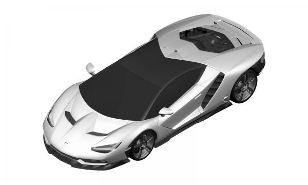 Первые изображения нового Lamborghini Centenario