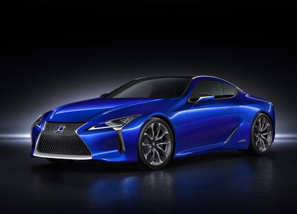 Lexus LC500 станет гибридом